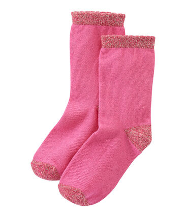 Girl's plain socks
