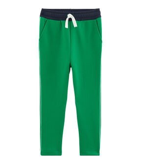 Boys' Knit Trousers Prado green