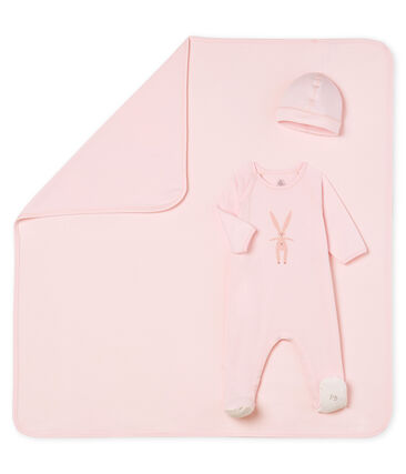 Unisex baby 3-piece gift box . set