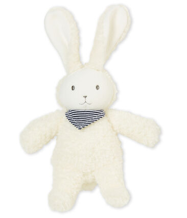 Musical rabbit comforter Marshmallow white