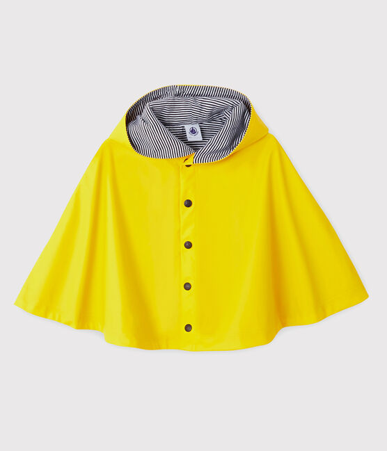 Petit Bateau Babies' Unisex Rain Cape Jaune yellow