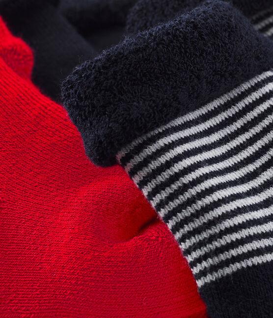 Set of 3 pairs of unisex baby's socks . set