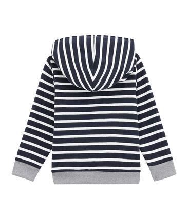 Sweatshirt in brushed cotton