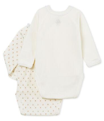 Baby Girls' Newborn Bodysuit - Set of 2