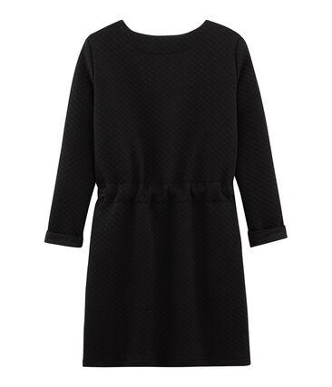 Women's Dress Noir black / Dore yellow