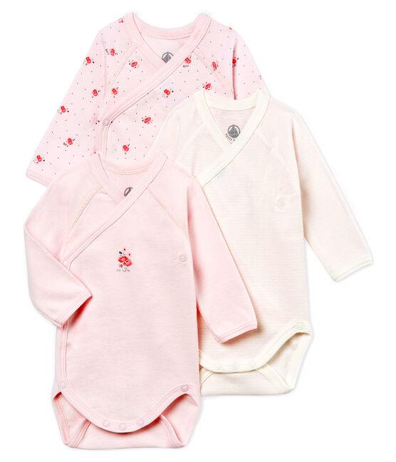 Unisex newborn baby long-sleeved bodysuit - 3-piece set . set