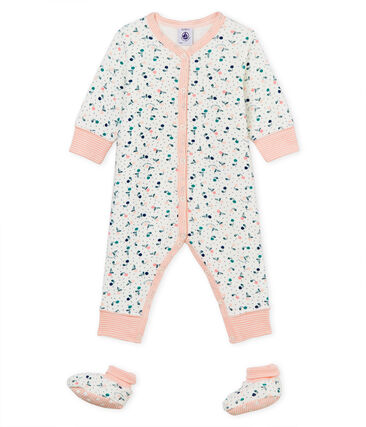 Baby Girls' Nightwear Set in Extra Warm Brushed towelling