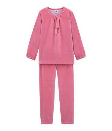Little girl's pyjamas Cheek pink
