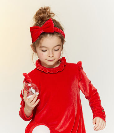 Girls' Hairband Terkuit red