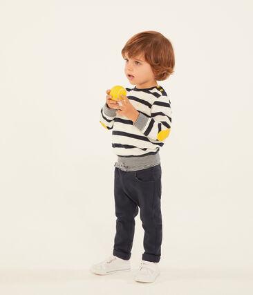 Baby boys' plain jersey trousers