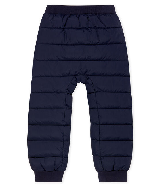 Unisex Child's Down Trousers Smoking blue