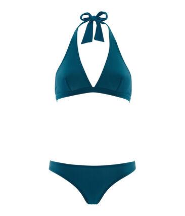 Women's 2-piece swimsuit Pinede green