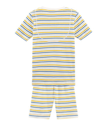 Boys' Snugfit short Pyjamas Marshmallow white / Multico white
