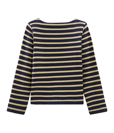Girl's Long-sleeved Sailor Top