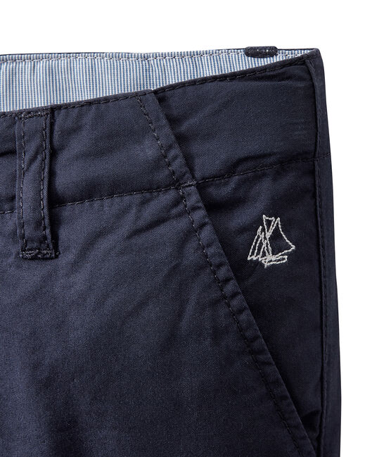 Boys' Bermuda Shorts Smoking blue
