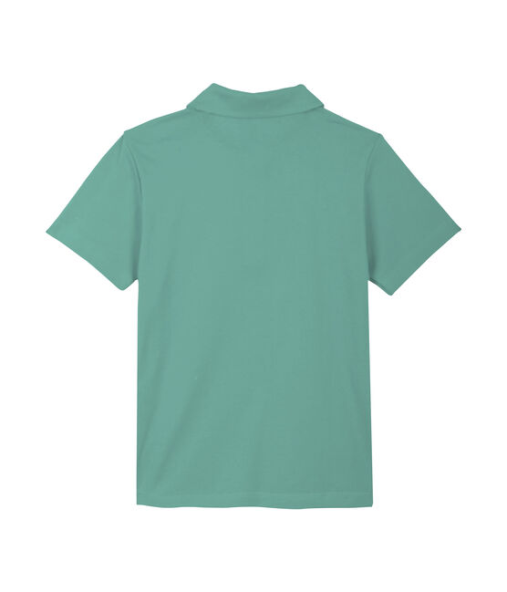 Boys' Polo Shirt Aloevera green