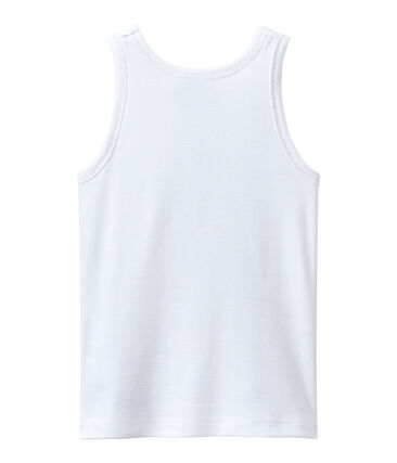 Girl's tank top with gold motif