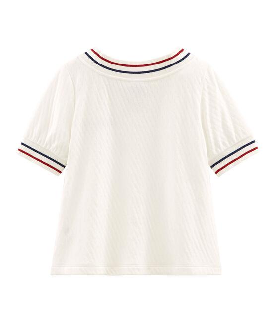Girls' Top Marshmallow white