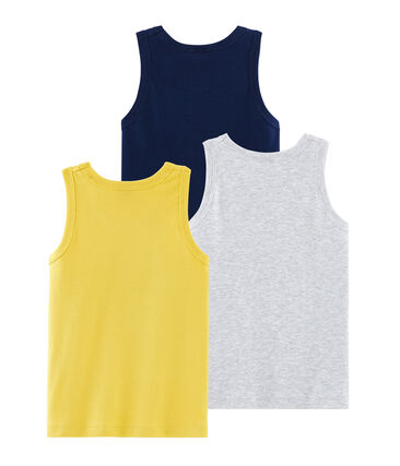 Boys' Sleeveless Tops - 3-Piece Set