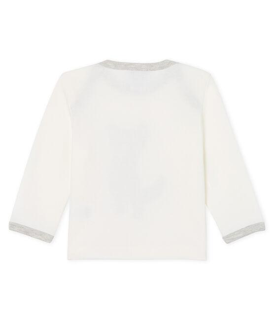 Baby Boys' Long-Sleeved T-Shirt Marshmallow white