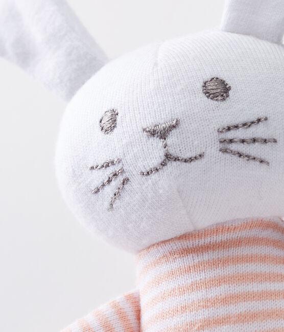 Babies' Jersey Bunny Comforter Rosako pink / Marshmallow white