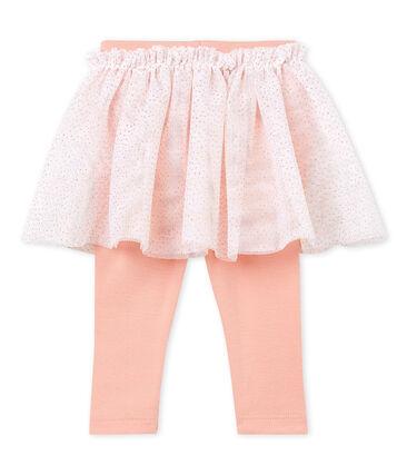 Baby girls' skirted leggings