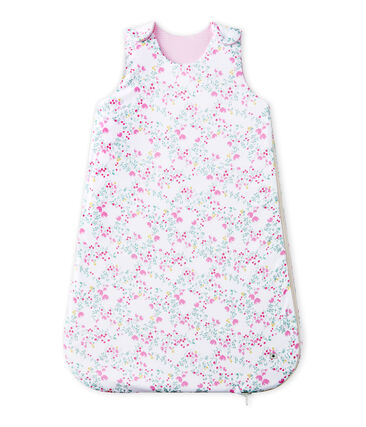 Baby girl's reversible sleeping bag