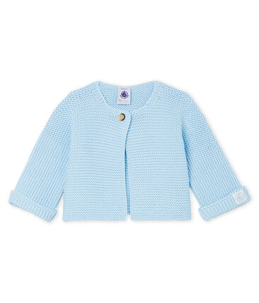 Babies' Cardigan Made Of 100% Cotton Knit
