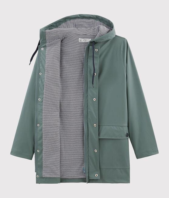 Iconic Unisex Raincoat Thuya green