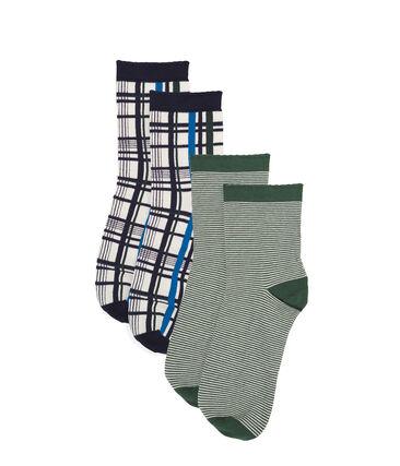 Women's Mid-High Socks Set . set