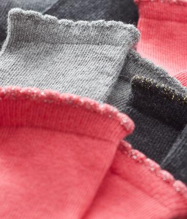 Baby Girls' Basic Socks - 5-Piece Set . set