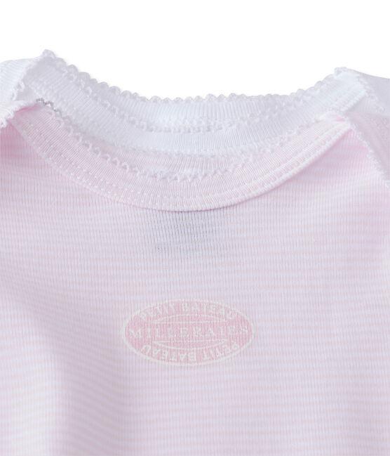 Pack of 2 baby girl long-sleeved bodysuits . set