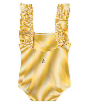 Baby girls' 1p striped swimsuit