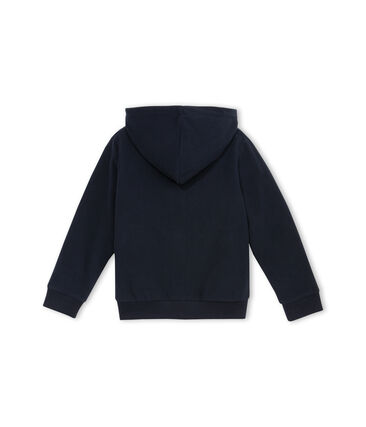 Zipped Hoody Abysse blue
