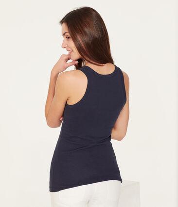 Women's Iconic Vest Smoking blue