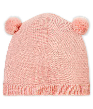 Mixed baby's hat Joli pink