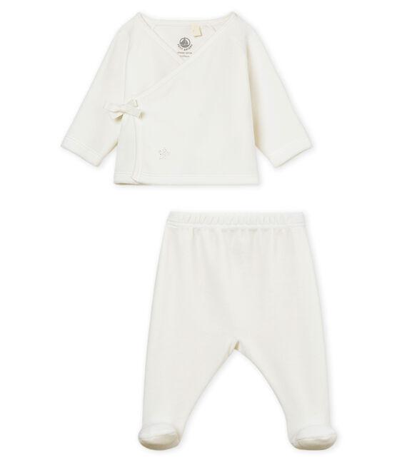Unisex newborn baby set Marshmallow white