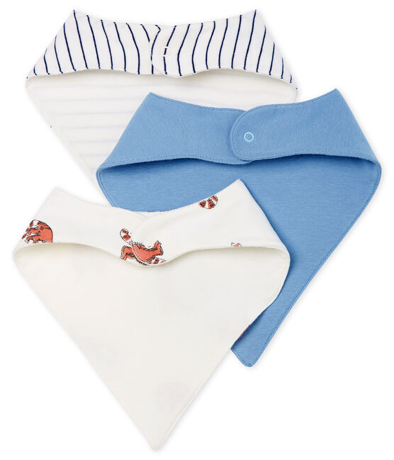 Baby Boys' Rib Knit Bibs - 3-Piece Set . set