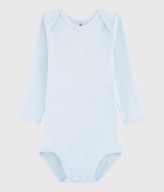 Unisex Babies' Long-Sleeved Bodysuit Fraicheur blue
