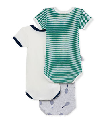 Baby Boys' Short-Sleeved Bodysuit - Set of 3