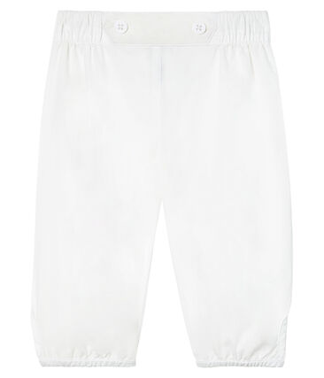 Baby Boys' Special Occasion Trousers In Plain Poplin
