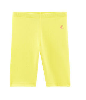 Girls' Cycling Shorts Eblouis yellow / Or yellow