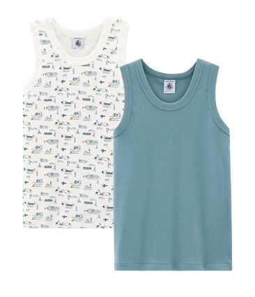 Boys' sleeveless vests - Set of 2
