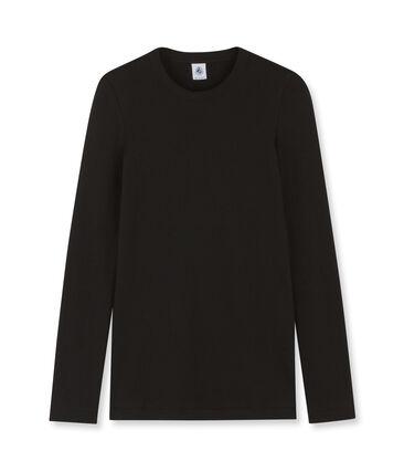 Women's Long-Sleeved Iconic T-Shirt Noir black