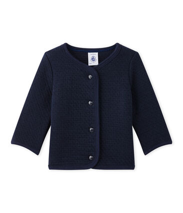 Baby girl's plain cardigan