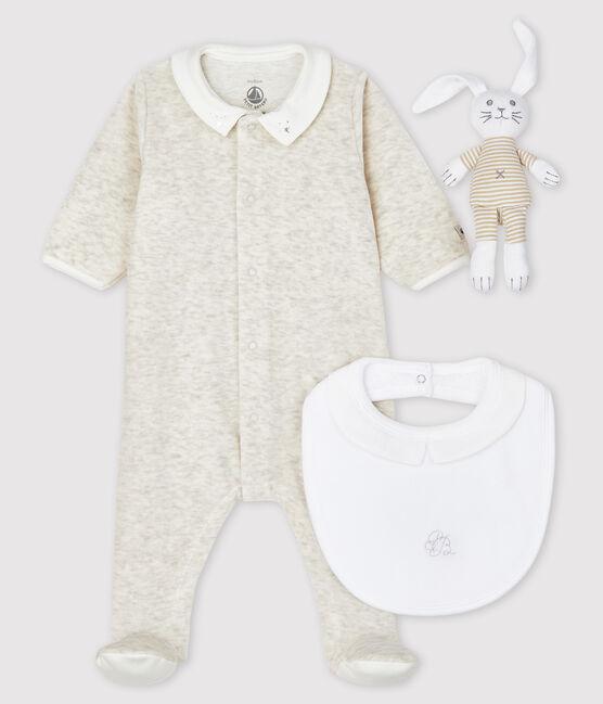 Newborn Babies' Velour Gift Set . set