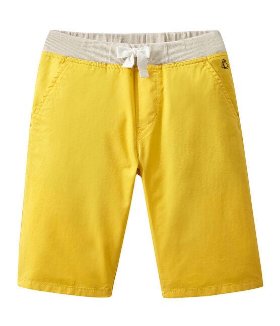 Boy's shorts Ble yellow