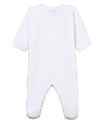 Babies' Unisex Velour Sleepsuit