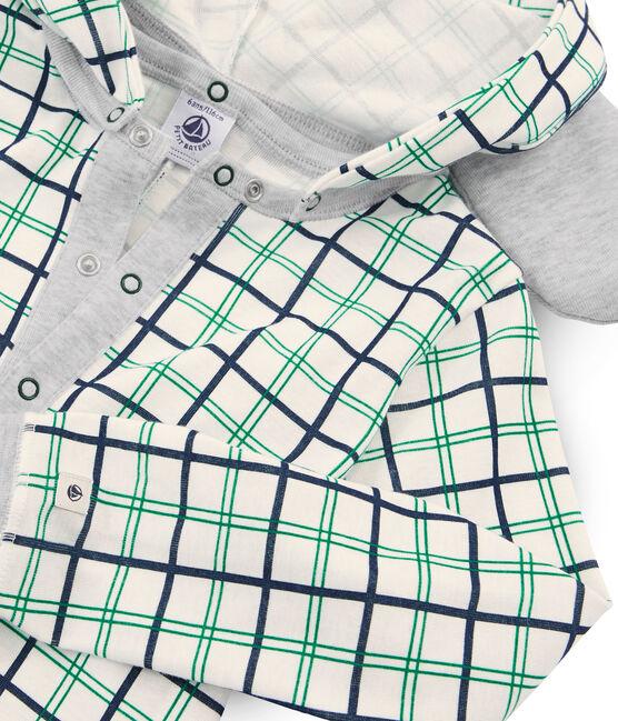 Baby Boys' Long Jumpsuit Marshmallow white / Multico white