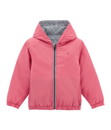 Child's warm, reversible windbreaker jacket